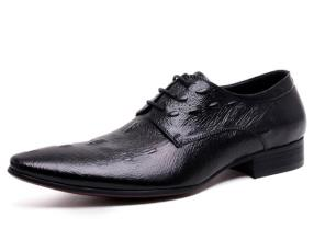 CWMALLS Embossed Leather Derby Shoes CW716012