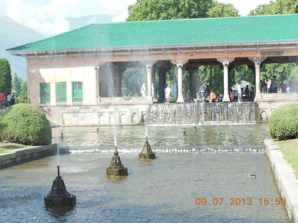 Shalimar Garden, Srinagar, Jammu and Kashmir, India