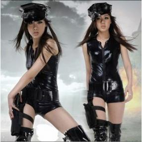 Black Big Seller Hot Sergeant Christmas Costume