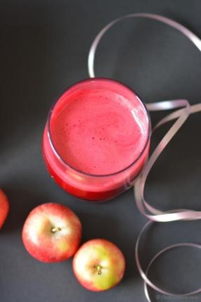 Ginger Spiced Beet Root and Apple Juice Recipe - ChefDeHome.com