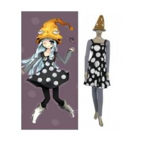 Soul Eater Eruka Frog Dress Cosplay Costume