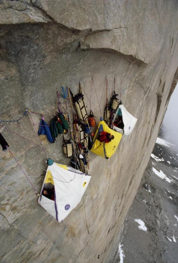 Cliff Camping!!