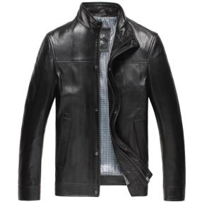 CWMALLS Custom Leather Biker Jacket CW807018
