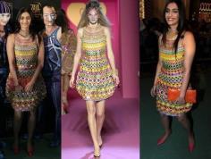 Sonam Kapoor wearing Manish Arora's designed dress