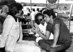 Sholay behind the camera picture of Jai and Veeru