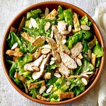 This Panera chicken salad is so yummy, dairy free and weight watcher friendly