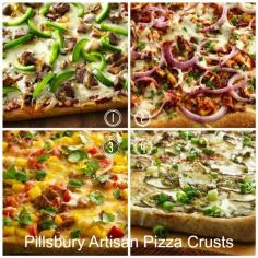 Pillsbury Artisan Pizza Crusts