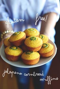 Gluten Free Corn bread Muffins