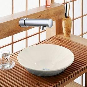 Contemporary Sensor Chrome Finish Bathroom Sink Faucet--Faucetsuperseal.com