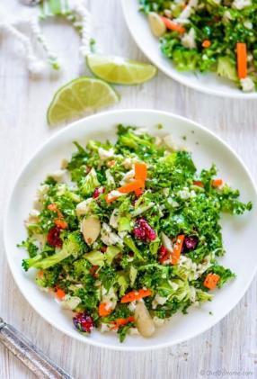 Cauliflower and Broccoli Detox Salad Recipe - ChefDeHome.com