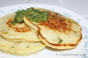 Chickpea Flour Pancakes