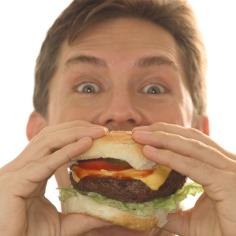 Five most popular foods in USA by John-Bryan Hopkins. 1) French Fries, 2)Hamburgers, 3)Fried Chicken, 4) Eggs, 5)Pizza
