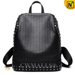 CWMALLS Designer Leather Studded Backpack CW207006