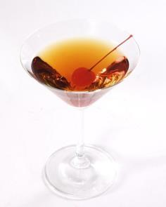 Manhattan - There's something cosmopolitan (hold the cranberry juice) about sipping these traditional libations.