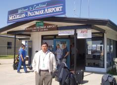Palomar airport, old photo