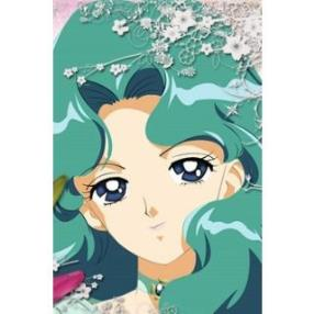 Sailor Moon Kaiou Michiru Sailor Neptune Cosplay Wig--CosplayDeal.com