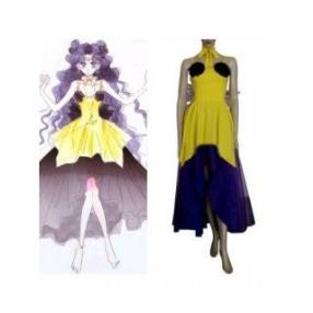 Sailor Moon Luna Human Form Cosplay Costume--CosplayDeal.com
