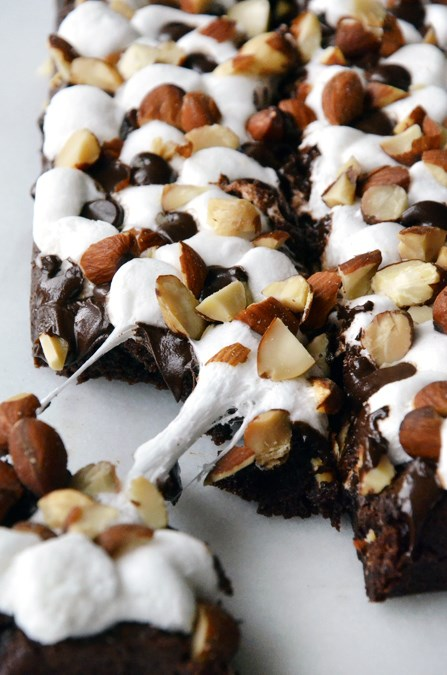 Marshmallow Chocolate Brownies