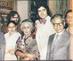 Sholay Premiere....The Bachchans