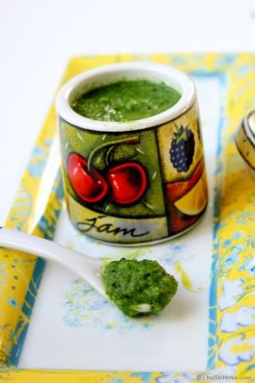 Low Calorie Kiwi and Cilantro Chutney Recipe - ChefDeHome.com