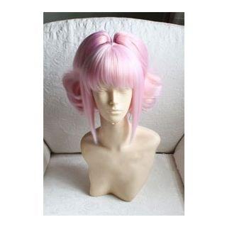Code Geass Anya Alstreim Pink Curly Cosplay Wig