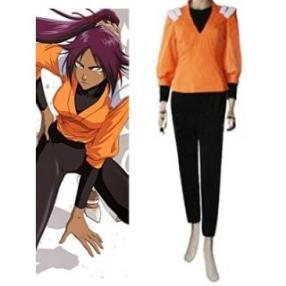 Bleach Brand New Yoruichi Shihouin Cosplay Costume