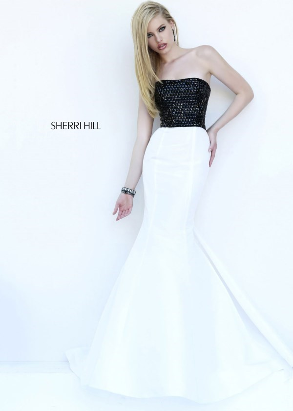 Fashion Sherri Hill 32172 Strapless Mermaid Dress Online