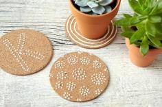 Homemade coasters