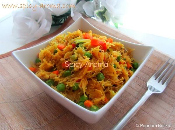 Vermicelli Upma from Spice Aroma looks so good