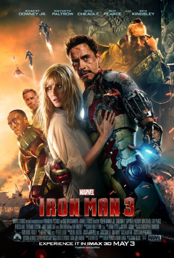 Iron Man 3 - very good movie