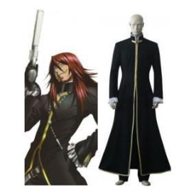 D.Gray-Man Cross Marian Black Cosplay Costume--CosplayDeal.com