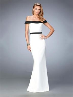 Elegant with the off Shoulder Neckline Chiffon Prom Dress PD12263