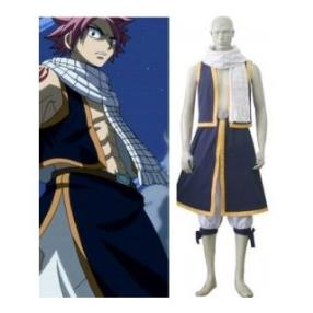 Fairy Tail Natsu Dragneel Cosplay Costume