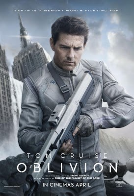 A court martial sends a veteran soldier (Tom Cruise) to a distant planet, where he has to destroy the remains of an alien race.