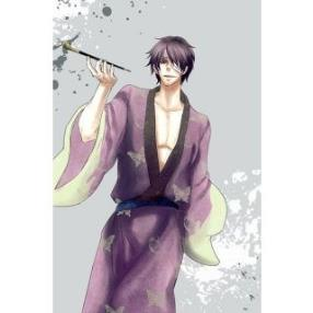 Gin Tama Takasugi Shinsuke Uniform Cloth Cosplay Costume