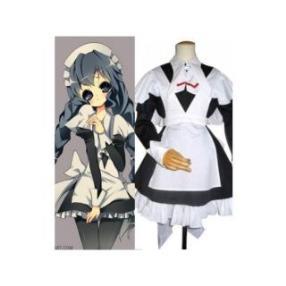 Chobits Yuzuki Maid Cosplay Costume
