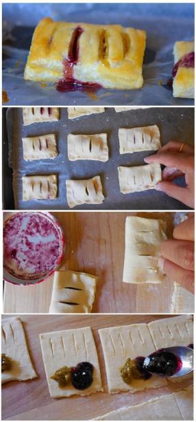 Making of Petite Pastry Bites