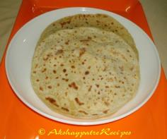 Indian Stuffed Sweet Parantha