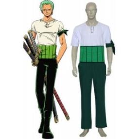 One Piece Roronoa Zoro Cool Cosplay Costume