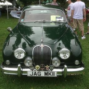 1962 Jaguar MK II Sedan #pvgp #autoshow #cars