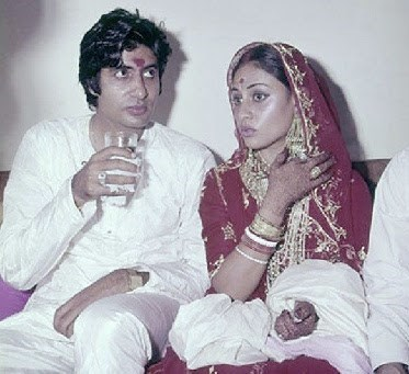 The couple married in 1973 after which Jaya stopped doing films altogether.