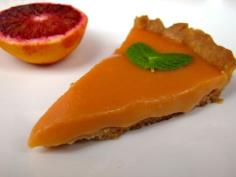 Orange tart looks so good