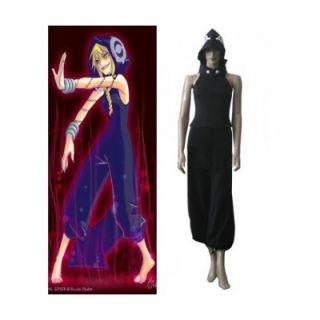 Soul Eater Medusa Black Jumpsuit Cosplay Costume