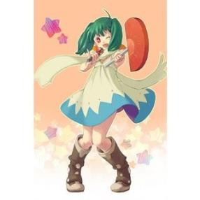 Macross Frontier Ranka Lee Casual Dress Cosplay Costume