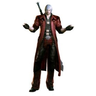Devil May Cry 4 Dante Cosplay Costume--CosplayDeal.com