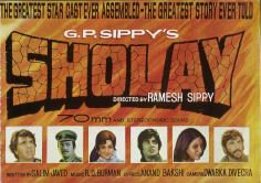 Sholay - Greatest starcast ever assembled, The greatest story ever told