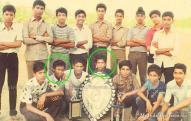 Rare photo of Sachin Tendulkar Childhood
