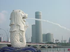 Merlion Singapore - Singapore Mascot