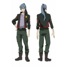 Macross F S.M.S Team Uniform Cosplay Costume