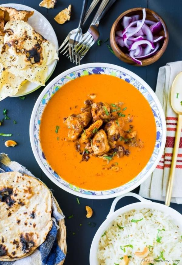 Chipotle Chicken Tikka Masala Recipe -ChefDeHome.com
